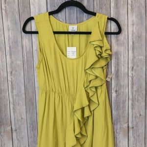 NWT Hot & Delicious Lime Cinched Waist Dress M